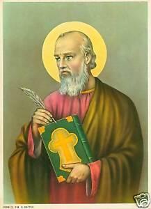 Catholic-Print-Picture-SAINT-ST-MATTHEW-the-APOSTLE-ready-to-frame