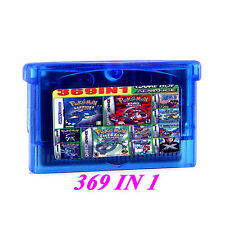 Free shipping 369 games in 1 cartridge  NDS NDSL  GBM GBA SP GBA english version