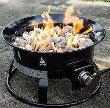 Heininger 58,000 BTU Portable Propane Outdoor All Weather Fire Pit, 5995 New