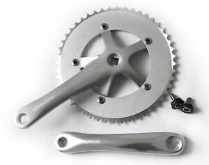 Espresso-alloy-48t-single-speed-crankset-for-bike-bicycle-silver