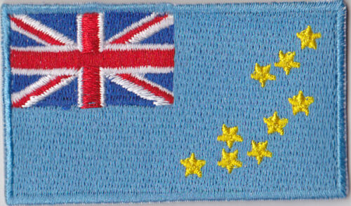 Tuvalu Flag Embroidered Patch T4