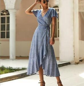 Sundress-Boho-Dress-Evening-Maxi-Summer-Floral-Party-Cocktail-Long-Women-039-s-Beach