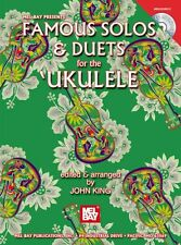 Famous Solos and Duets For The Ukulele Play UKE Songs Music Book Online Audio