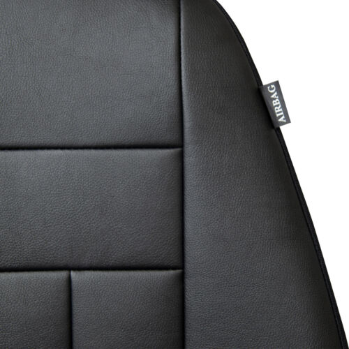 Dacia Logan II 2012-2017 Maßgefertigte Kunstleder Sitzbezüge in Schwarz