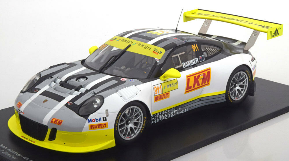 Spark Porsche 911 GT3 R Macao Copa del Mundo 2016 acompañantes  911 1 18 le de 300 in (approx. 762.00 cm) Stock