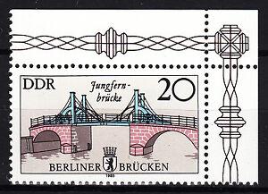 DDR-1985-Mi-Nr-2973-Eckrand-Postfrisch-24825