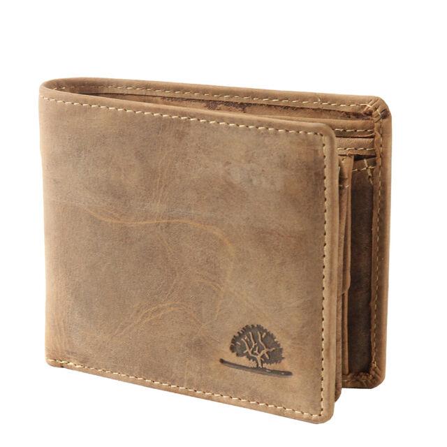 Greenburry Vintage Leder Geldbörse Portemonnaie Geldbeutel Brieftasche 1676-25