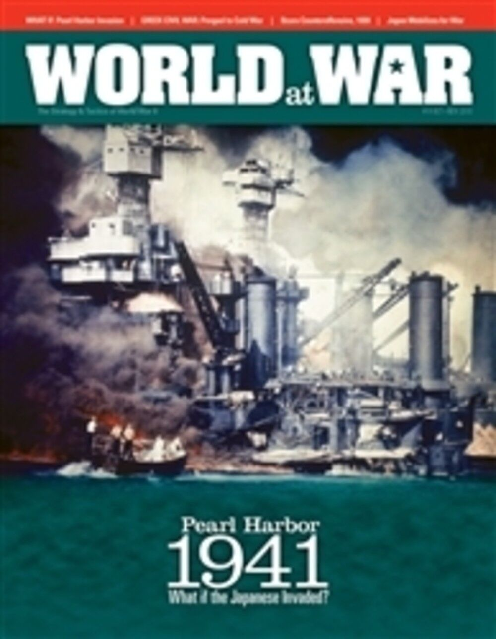 World  At War Numero 14 Perla Porto 1941 What se Giapponese Invaso - senza Colpi  edizione limitata