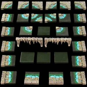NEW-Dwarven-Forge-Dwarvenite-Water-Cavern-Pack-Expertly-Hand-Painted-GT5-WC-P