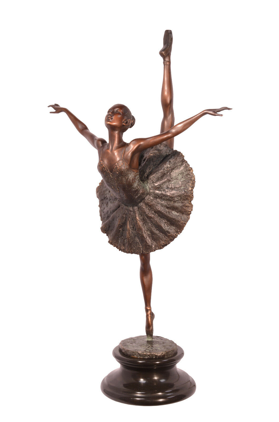 Bronze Skulptur Ballett Tänzerin Tänzerin Tänzerin Ballerina neu 99937663-dss 16476b