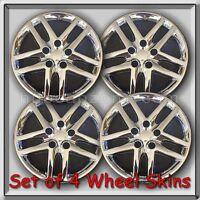2010-2012 Ford Fusion Chrome 16 Wheel Skins Hubcaps Chrome Wheel Covers Set 4