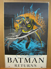 Vintage 1991 DC Comics Batman Returns Poster 11869