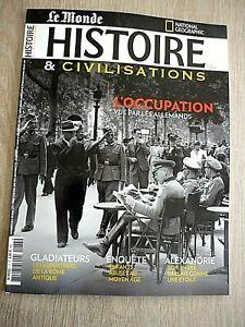REVUE  HISTOIRE & CIVILISATIONS   N° 73 - JUIN  2021  /  L'OCCUPATION  ...