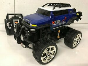 MONSTER-KING-TRUCK-HIGH-SPEED-360-SPIN-RADIO-REMOTE-CONTROL-CAR-BLUE-BOXED