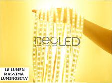 Striscia LED Strip Calda 2900k 5mt smd 5050 Chip EPISTAR 300 LED Alta Luminosità