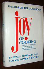 Joy Of Cooking Cookbook by Irma Rombauer & Marion Becker illustrated 1988