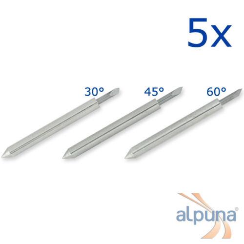 30° ALPUNA Qualitätsmesser 5 Plottermesser für ROLAND