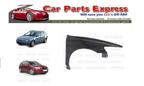 RIGHT WING PAINTED ANY COLOUR VOLVO V50 2004-2012 FRONT O//S