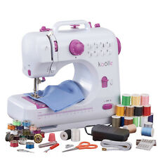 Portable Compact Electric Sewing Machine Foot Pedal Carry Case & Accessory Kit