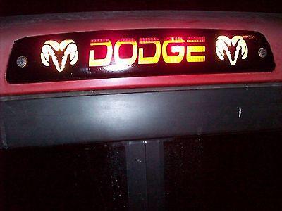 3rd Brake Light Decal Sticker fits 2009 2010 2011 RAM 1500 2500 3500