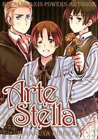 "JAPAN Hidekaz Himaruya: Hetalia Axis Powers Art book ""Arte Stella"""