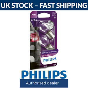 Philips-Vision-Plus-P21W-Stop-Light-Car-Bulbs-OR-Tail-Light-Car-Bulbs-Twin