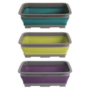 Outwell Collaps Camping Washing Up BowlBLUECollapsible Camper Caravan