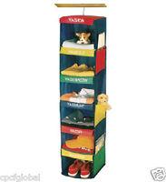 Closet Organizer Kids Rotate Multi Color 6 Shelf Hanging Daily Week Day Activity