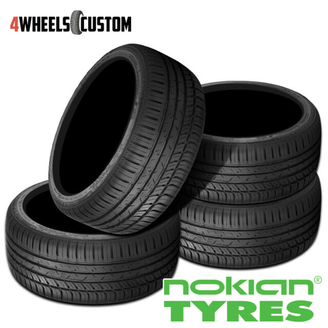 4 X New Nokian ZLINE A/S 225/45R17 94W All-Season Driving Tire