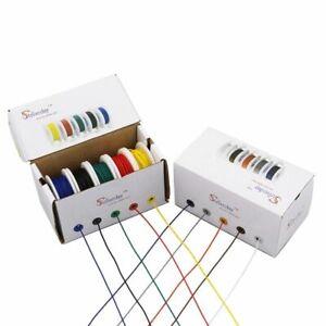 Cableado-Electrico-Cable-de-mezcla-del-filamento-Carretes-PCB-de-cobre-28-26-24-22-20-18-AWG