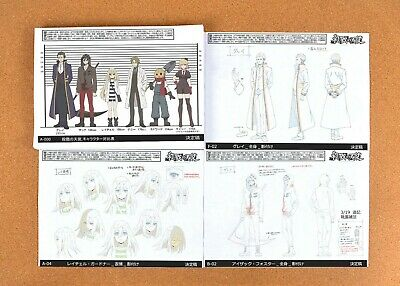 Angels of Death settei sheets