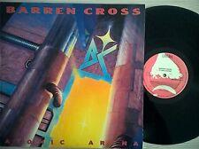 DISCO LP BARREN CROSS - ATOMIC ARENA - 1988 ENIGMA 3311-1 HOLLAND - EX+/EX