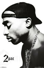 TUPAC - PROFILE POSTER - 22x34 - 2PAC MUSIC 17579