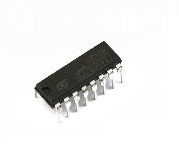5Pcs L293D L293 Push-Pull Four-Channel Motor Driver IC