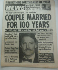 News Extra Magazine Couple Married For 100 Years July 1985 070715R