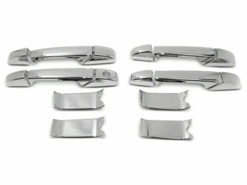 Yukon XL Chrome Door Handle Covers 4 Doors 2007-2014 GMC Yukon