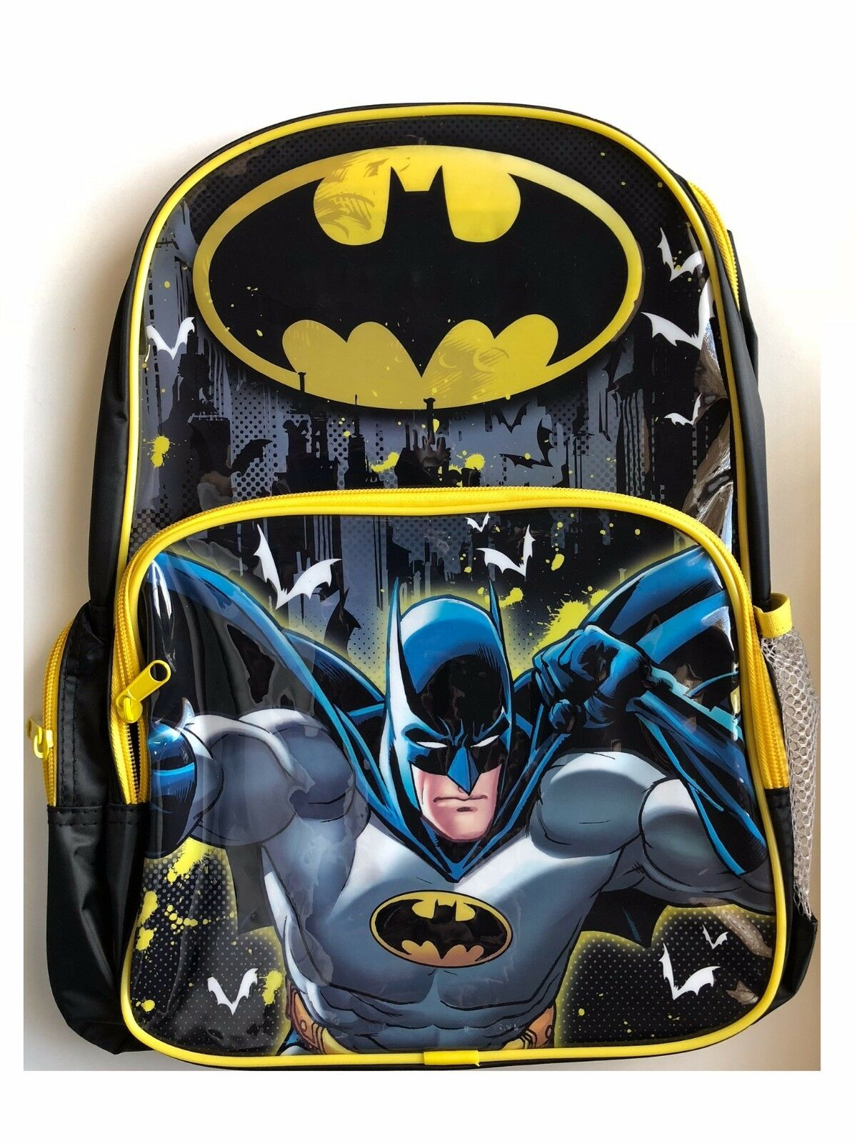 7764009a7426 Details about Batman Backpack DC Comics School PreSchool Daycare Bag New  Boys Kids Super Heros