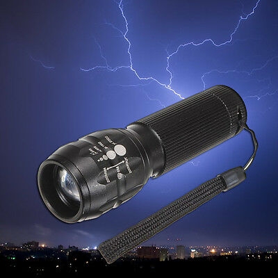 Super Bright Torch 1000 lumen Zoomable LED Flashlight Torch outdoor lighting