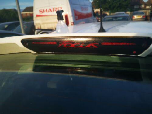 Brake light Decal//Sticker Ford Focus MK3 High 3rd