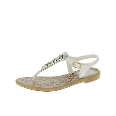 Kids Girls Ipanema Jewel White Flip Flops Sandals New In