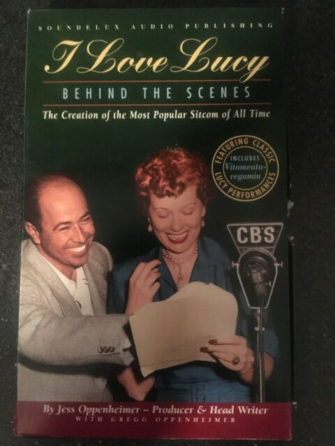 I Love Lucy: Behind the Scenes by Jess Oppenheimer Abridged Audio Cassettes
