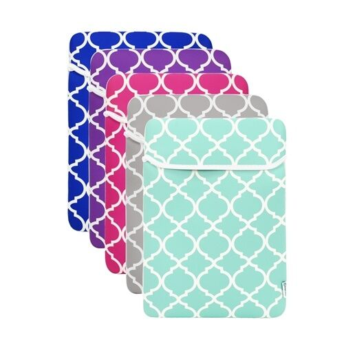 Quatrefoil Moroccan Sleeve Case for Macbook and Laptop with similar demension