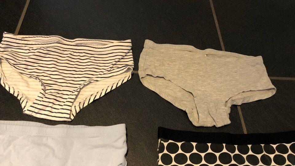 Undertøj, 10 par underbukser / hipsters str146/152, H&M og