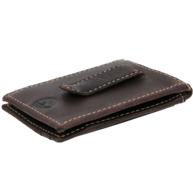 656b49920a0 Timberland Men's Delta Flip Money Clip Brown One Size