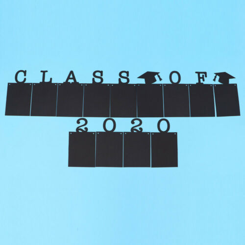 1 Set Photo Banner School 2020 Graduation Creative Banner for Decor