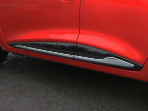 Chrome-Side-Door-Streamer-Trim-Set-Covers-To-Fit-Renault-Clio-IV-2012