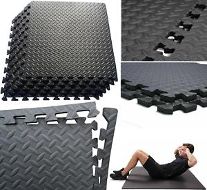 Verrouillage eva mousse tapis de sol exercice gym enfants tapis de jeu garage bureau