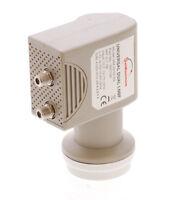 Ku Band Lnb Dual 0.1db Universal Linear 2 Port Hd Ready Digital Satellite Lnbf