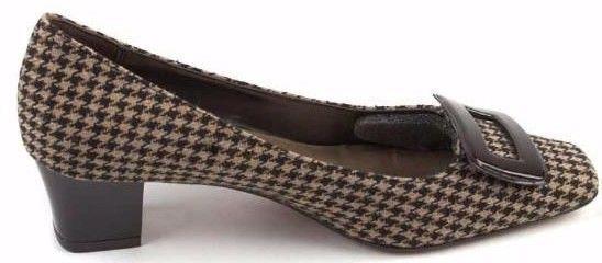 New CIRCA JOAN & DAVID Heel Damens Fabric Dress Pump Heel DAVID Comfort Schuhe Sz 7.5 M 9e7655