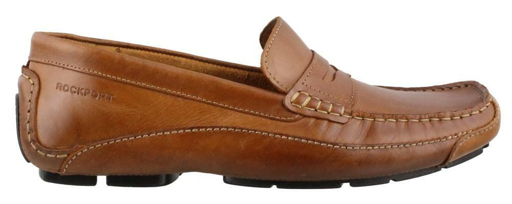 Rockport Luxury Cruise Penny Loafer Leather Mens Casual Shoes